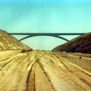 West Lilac Road Bridge over I-15