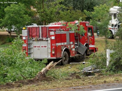 Ynez Fire Truck Accident